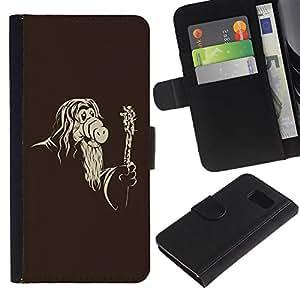 All Phone Most Case / Oferta Especial Cáscara Funda de cuero Monedero Cubierta de proteccion Caso / Wallet Case for Sony Xperia Z3 Compact // Funny Mask Old Wizard
