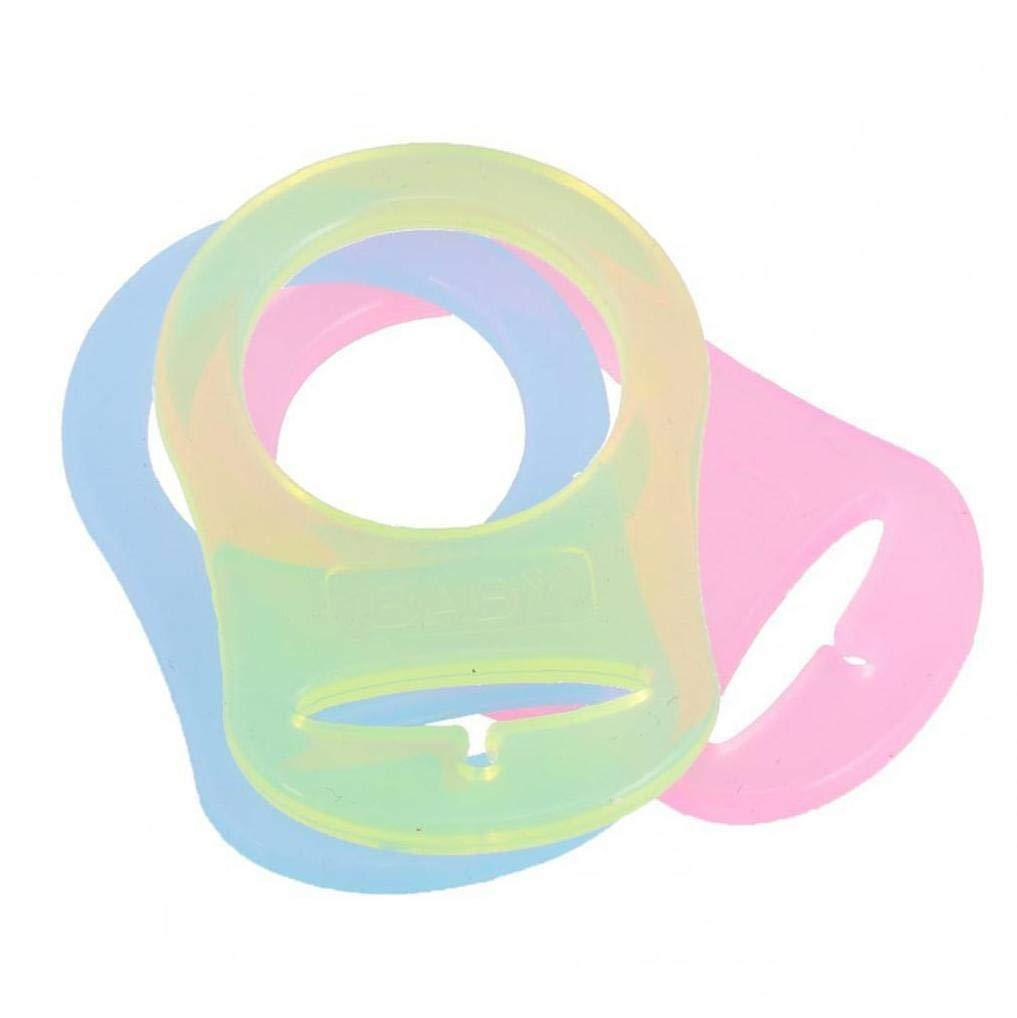 OMMO LEBEINDR Tettarella Anello Fibbia Colore Misto Del Silicone Adattatore Di Stile Nipples Anti Perso Silicone Accessori 10pz Bambino Ciuccio Anello Fibbia