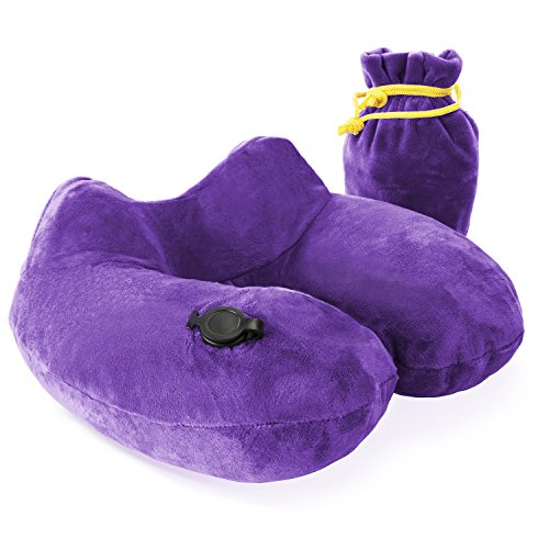 Sleep Restoration Inflatable Travel Pillow product image