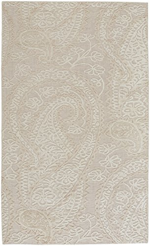 Capel Rugs Williamsburg Hanover 5' x 8' Hand Woven Area Rug - Ivory ()