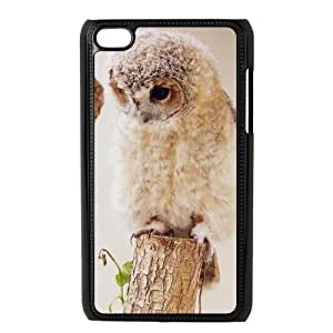 MY LITTLE IDIOT STORE Owl Hard Plastic Back Cover Protection Case for ipod touch 4