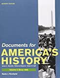 America: A Concise History 5e V2 and Documents for America's History 7e V2, Henretta, James A. and Edwards, Rebecca, 1457616688