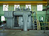18 x 24 Art Canvas Print of One of four generators at the Franklin County REA Power Plant Museum near Hampton Iowa housed in the first electric plant west of the Mississippi River to generate electric