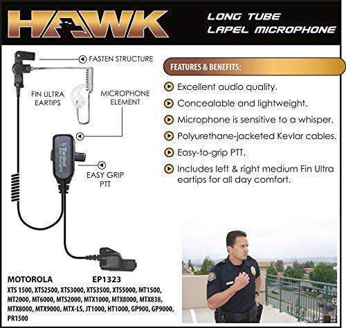 Police Speaker Mic Earpiece Motorola XTS5000 XTS3000 XTS2500 XTS1500 PR1500