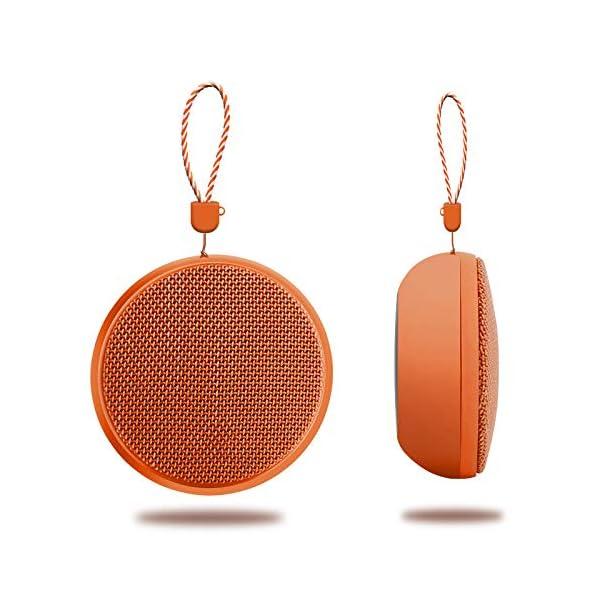 Enceinte Bluetooth Enceinte sans Fil Bluetooth pour Extérieur avec Lanière Mini Haut-Parleur Bluetooth Anti-Goutte 9 * 9 * 5 Cm B 1