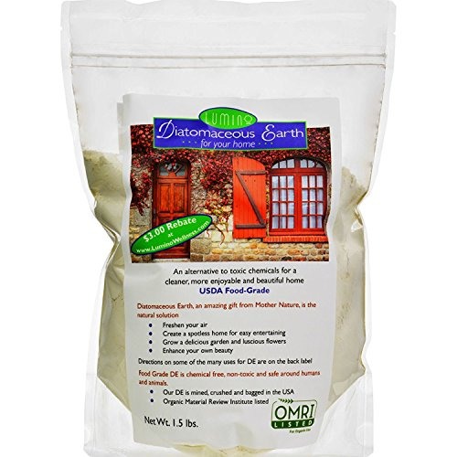 Lumino Home 13964225525 Home Diatomaceous Earth 1.5 Lb Fertilizers