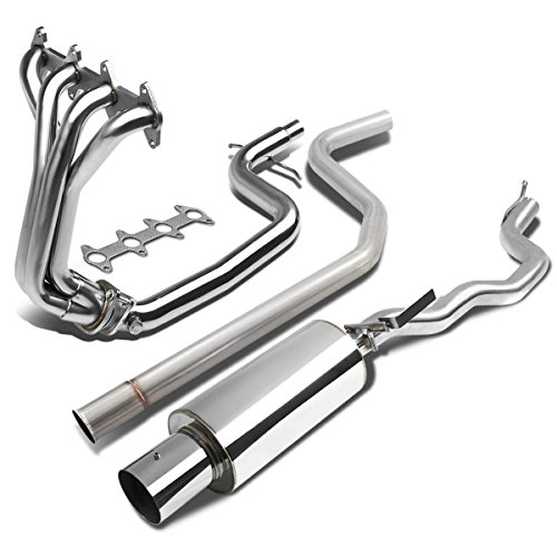 - For Cavalier/Sunfire 2.2L L61 Stainless Steel Polished Header Manifold+4