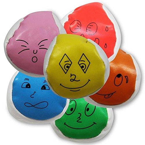 24 Stück Farbiger Fun-Ball zum jonglieren lernen