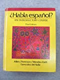 Habla Espanol, Allen, Edward D. and Freeman, Ronald A., 0030704227