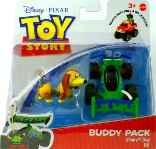 TOY STORY by DISNEY PIXAR, BUDDY PACK, SLINKY DOG AND RC