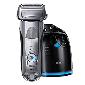 Braun Men's Series 7-797CC Cordless Wet and Dry Multi-Angled Pulsonic Shaver, 2.5 Pound