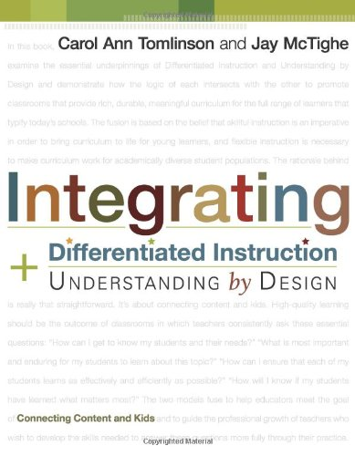 Pdf Teaching Integrating Differentiated Instruction & Understanding by Design: Connecting Content and Kids