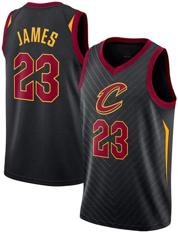 MMQQL Jerseys del Baloncesto Deportes de los Hombres NBA Cavaliers # 23 Ventilador James Fresco del Baloncesto Uniforme Transpirable Chaleco de la Tela de la Camiseta Jersey.