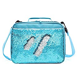 Mermaid Sequin Insulated Lunch Bag