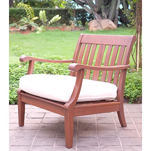 Como 2 piece mahogany lounge chair set buy online in ksa for Outdoor furniture jeddah
