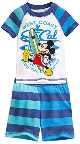 Disney Store Little Boys' Mickey Mouse PJ PALS Short Set, Size 6