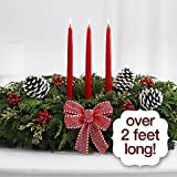 The Christmas Galleries Centerpiece - eshopclub Same Day Christmas Flower Delivery - Online Christmas Flowers - Christmas Flowers Centerpiece - Send Christmas Centerpiece