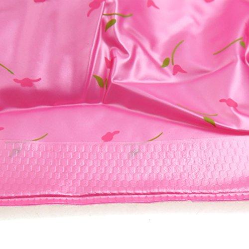 PVC Regen sourcingmap Rutschfest rose Wiederverwendbar Abdeckungs L Größe Paar Braun 1 Schuh Stiefel rWqwx8qXaF
