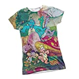 Meadow Gang -- Dragon Tales All-Over Front Juniors T-Shirt