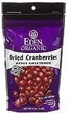 Eden Organic Dried Cranberries, 4 oz Pouches Review