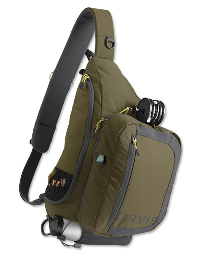 Orvis Safe Passage Guide Sling Pack, Olive Gray by Orvis