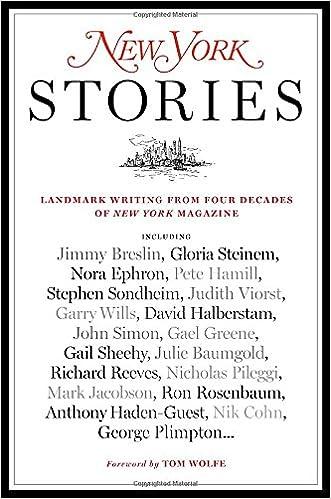 Amazon com new york stories landmark writing from four decades of new york magazine 9780812979923 editors of new york magazine steve fishman