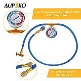 Aupoko R134A Refrigerant Recharging Hose Kit, AC