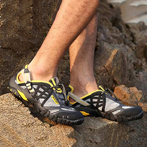 De Wwjdxz Impermeables Correr Libre Aire Senderismo Neutral Zapatos Para Deportes Sandalias Escalada Al Amarillo Vadeo rXwBZXq