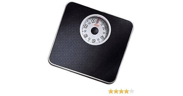 Soehnle 6151/61093 Tempo - Báscula mecánica, color negro: Amazon.es: Salud y cuidado personal