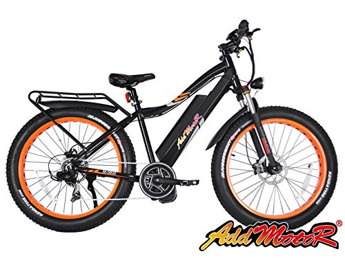 Addmotor MOTAN Electric Bike Bafang 1000W BBSHD Middle Hub Brushless Motor  Ebike 30MPH Electric Bicycle 17 5AH Lithium Battery Fat Tire Mountain Pedal