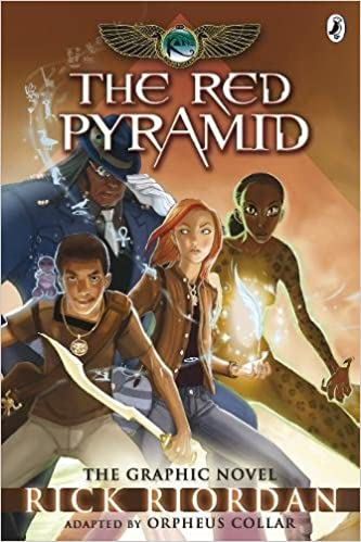 The Kane Chronicles: The Red Pyramid: The Graphic Novel: Rick ...