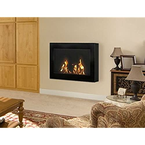 Nice Anywhere Fireplace   SoHo Model Black Wall Mount Fireplace