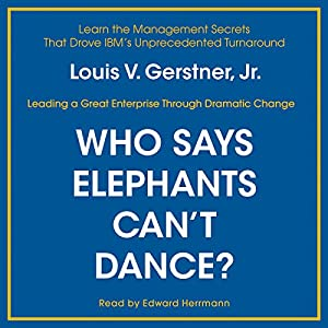 Who Says Elephants Can't Dance? Hörbuch