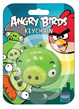 Amazon.com: Angry Birds Llavero verde Cerdo: Toys & Games