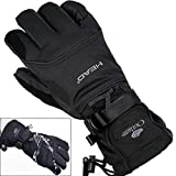 Men's Ski Gloves Snowboard Gloves Snowmobile Motorcycle Riding Winter Gloves Windproof Waterproof Unisex