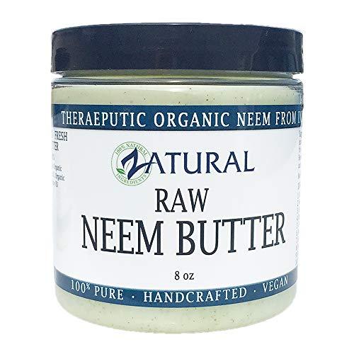 Organic Neem Butter-Shea Butter, Coconut Oil, Neem Oil, Neem Leaf, Marula Oil, Kokum Butter, Rosemary (8 -