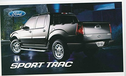 2004 Ford Explorer Sport Trac Pickup Truck ORIGINAL Factory Postcard from Ford