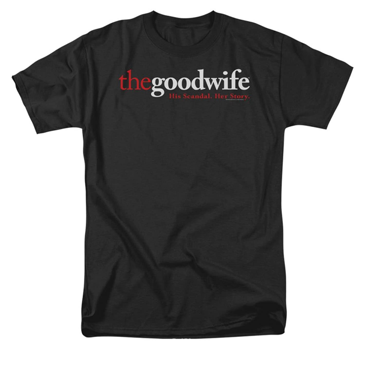 The Good Wife CBS TV Series Logo Adult T-Shirt Tee