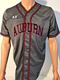 Under Armour University of Auburn Tigers Baseball Team Issued Jersey Medium