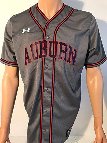 Under Armour University of Auburn Tigers Baseball Team Issued Jersey Medium by under arrmor