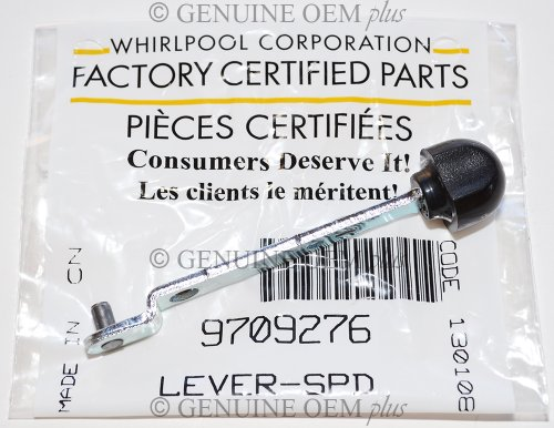 1 X PART # 9709276 GENUINE FACTORY OEM ORIGINAL STAND MIXER SPEED CONTROL LEVER FOR KITCHENAID WHIRLPOOL