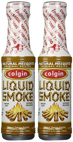 Colgin, All Natural Mesquite Liquid Smoke, 4oz Bottle (Pack of ()