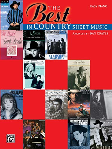 The Best in Country Sheet Music (Country Western Song Book)