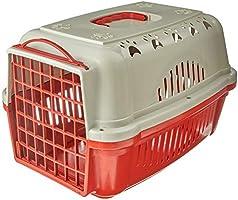 Caixa Transporte Falcon N.2 Vermelha Durapets para Cães