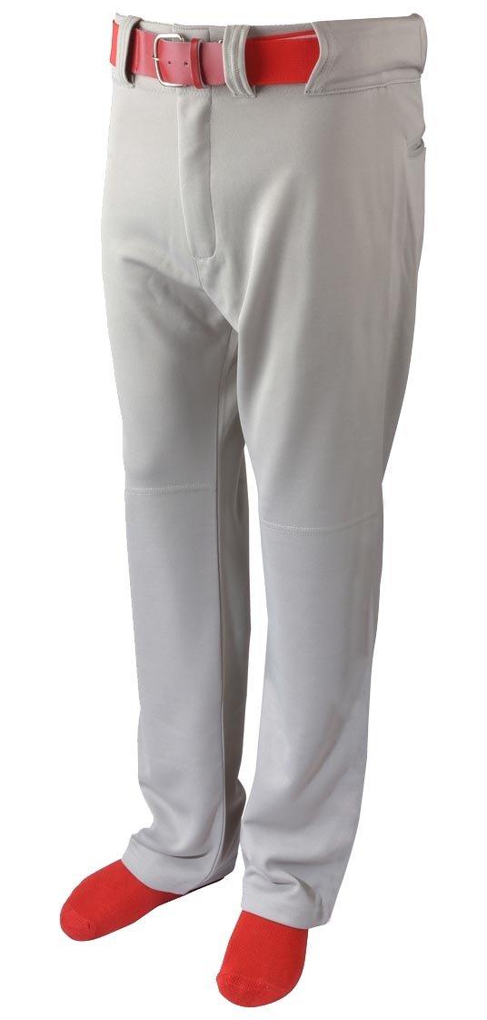 Martin Sports Heavyweight Belt Loop Baseball Pants Youth, Grey, Medium