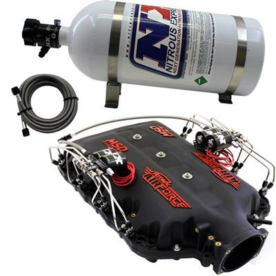 Lt1 Manifold Intake - Nitrous Express Msd Airforce Manifold For 2014-Up Lt1 Engines W/ Nx Direct Port Intake035
