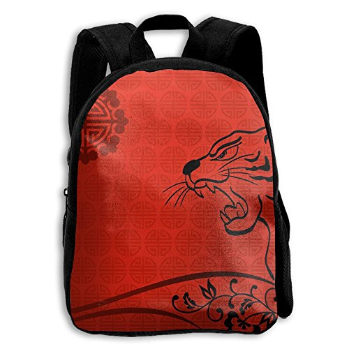 Lovely Cute 3D School Camp Puppy Kitty Cat Backpack Tiger Boys & Girls Backpack For School, Summer Camp, Travel And Outdoors