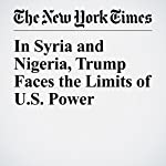 In Syria and Nigeria, Trump Faces the Limits of U.S. Power | Max Fisher
