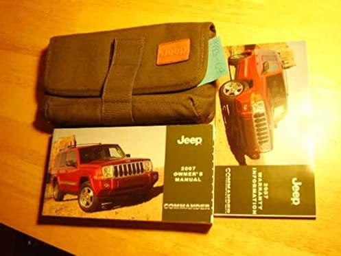 2007 jeep commander sport owners manual array amazon com 2007 jeep commander owners manual jeep books rh amazon fandeluxe Image collections