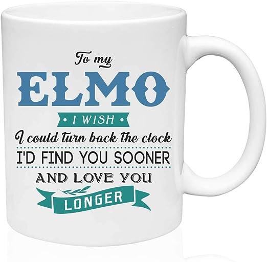 Amazon Com Ceramic Coffee Mug Funny Gifts Ideas To My Elmo
